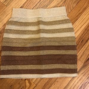 NWOT WOW Couture Bandage Mini Skirt